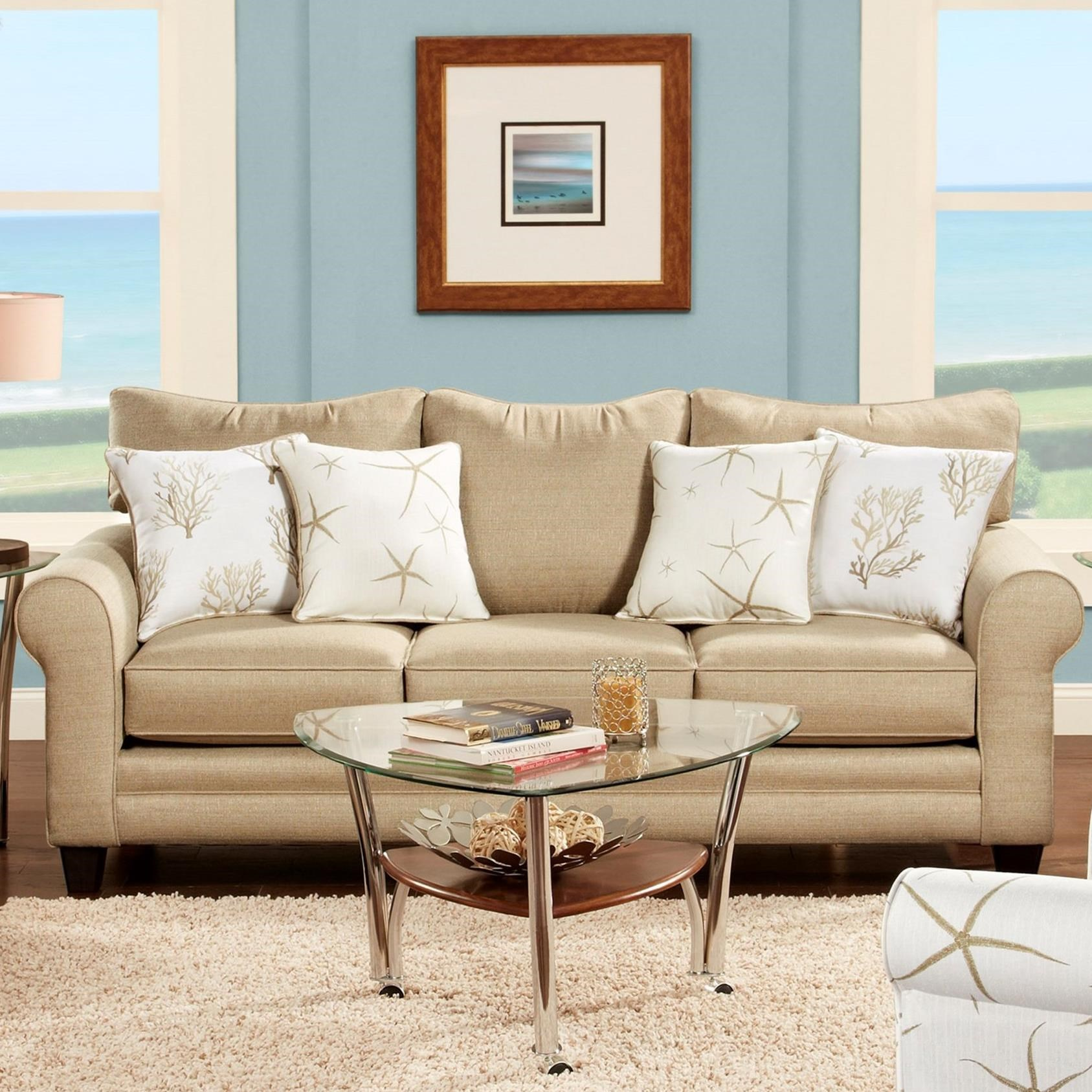 VFM Signature 1140 Sofa - Item Number: 1140Vibrant Linen
