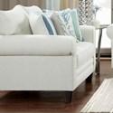 Fusion Furniture 1140 Loveseat - Item Number: 1141Grande Glacier