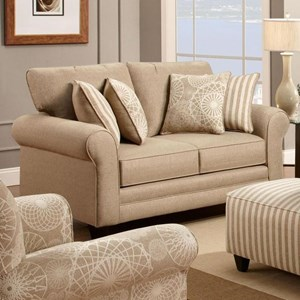 Fusion Furniture 1140 Loveseat