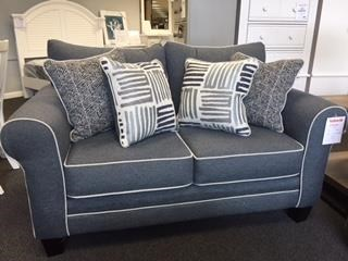 Fusion Furniture 1140Denim 1140 Denim Love Seat - Item Number: 1140denim