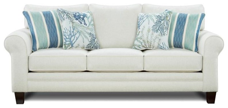 1144 Queen Sleeper Sofa by Kent Home Furnishings at Johnny Janosik