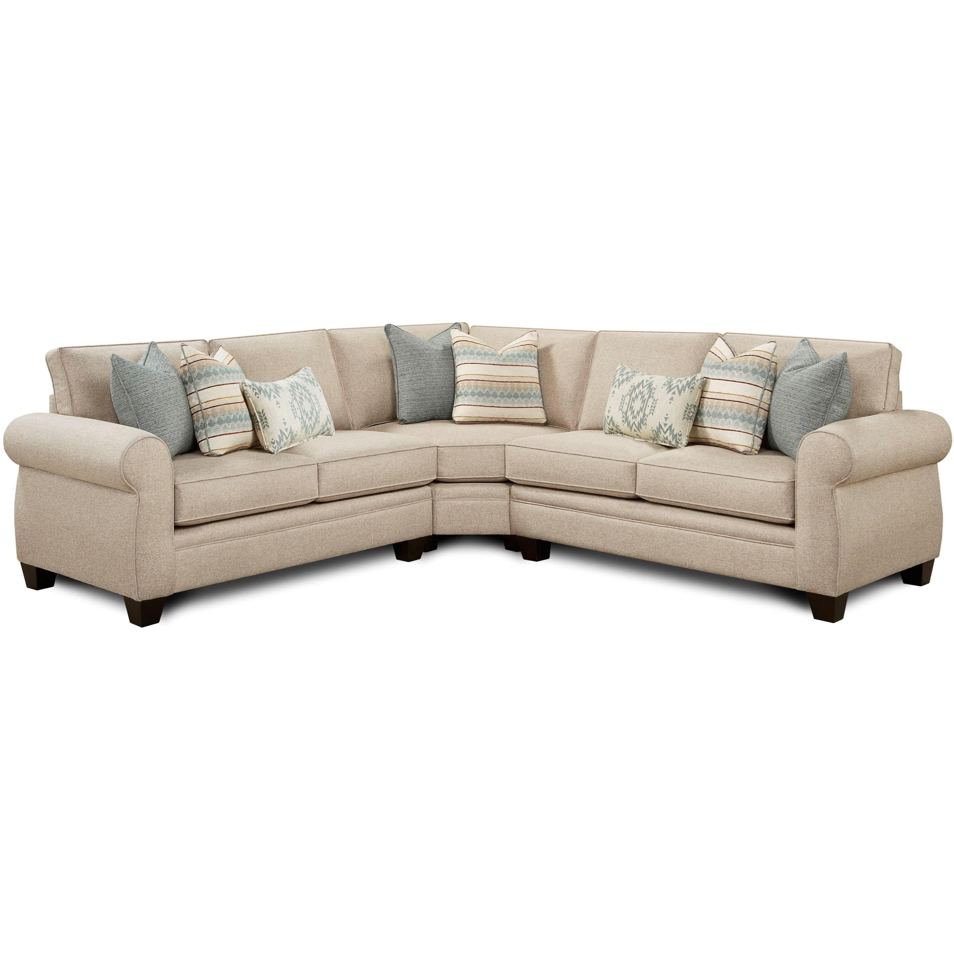 VFM Signature 1170 3-Piece Sectional - Item Number: 1170Infinity Fawn+1175+1170