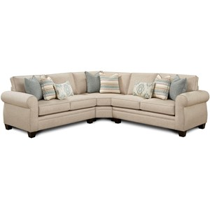 Fusion Furniture 1170 3-Piece Sectional