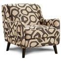 Fusion Furniture Sullivan Accent Chair - Item Number: 240 ATOMIC-BRINDLE