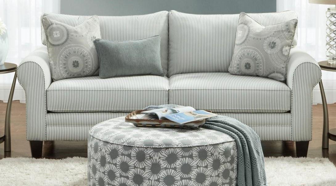 Fusion Furniture 1180 Upholstered Sofa - Item Number: 1181lvst