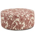 VFM Signature 140 Cocktail Ottoman - Item Number: 140Antoinette Crimson