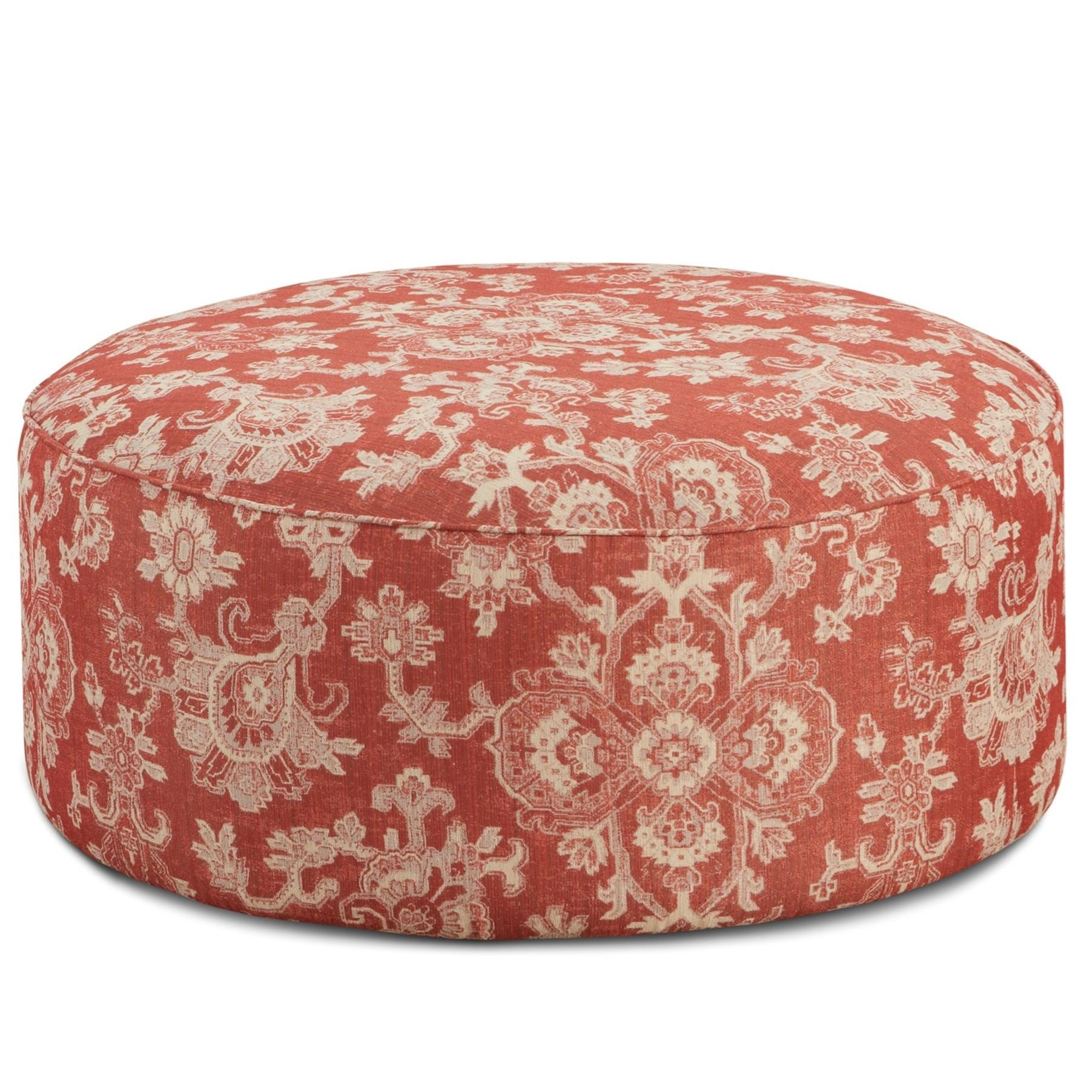 Fusion Furniture 140 Cocktail Ottoman - Item Number: 140Bedoya Pepper