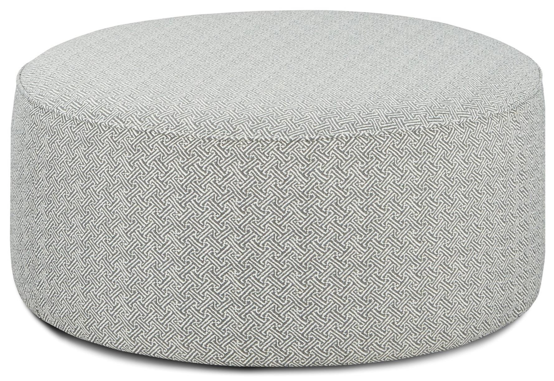 140 Cocktail Ottoman by Fusion Furniture at Miller Waldrop Furniture and Decor