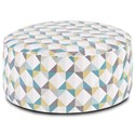 Fusion Furniture 140 Cocktail Ottoman - Item Number: 140Denmark Caper