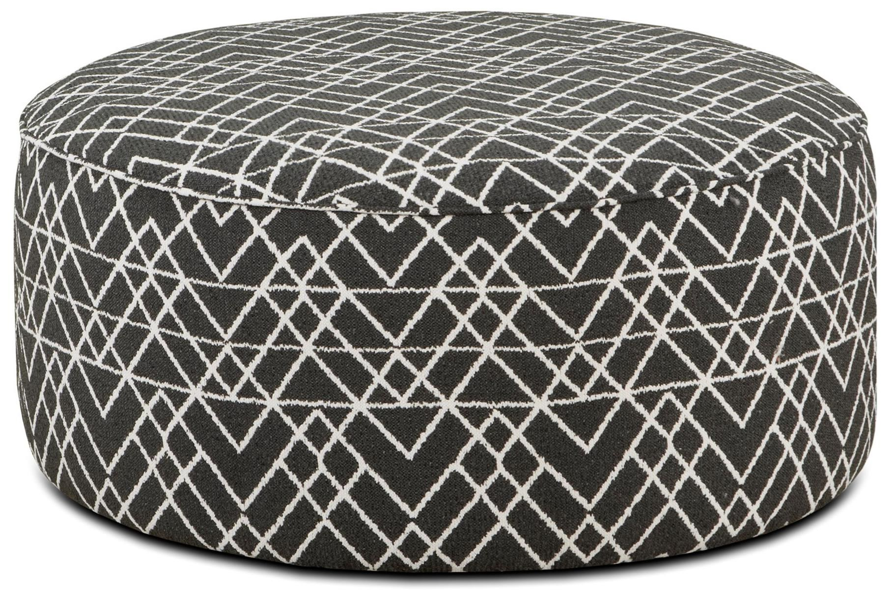 VFM Signature 140 Cocktail Ottoman - Item Number: 140Hyphen Onyx