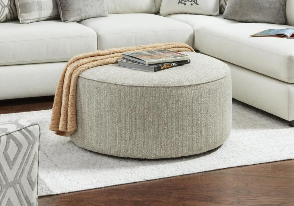 140 Cocktail Ottoman by Kent Home Furnishings at Johnny Janosik
