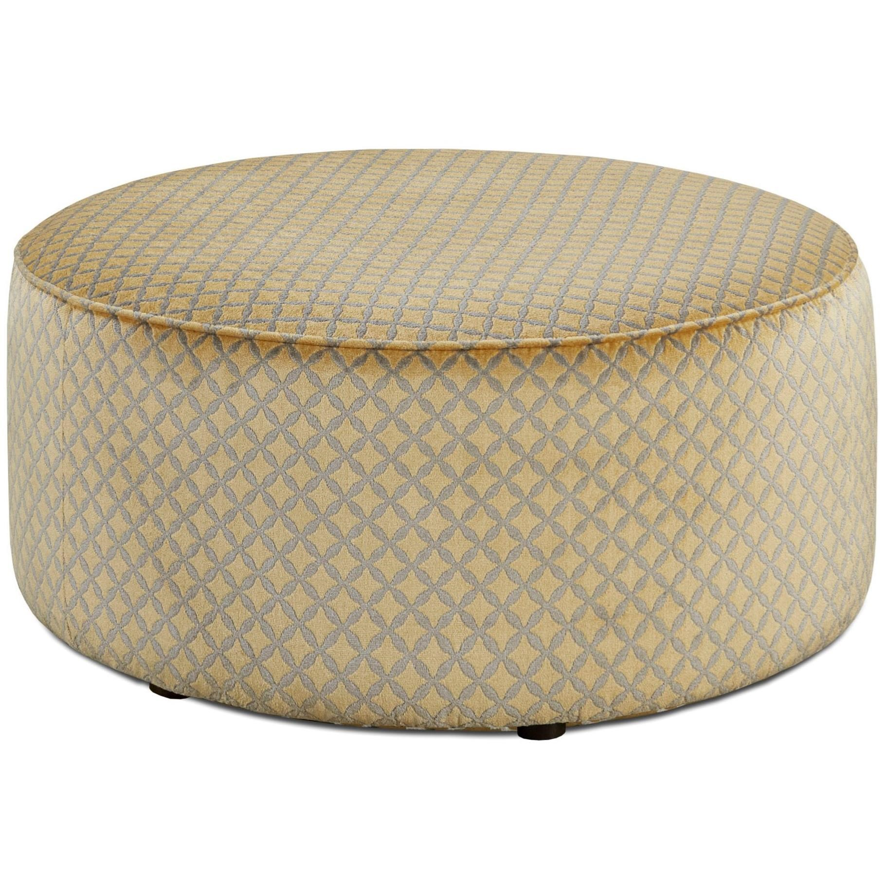 Fusion Furniture 140 Cocktail Ottoman - Item Number: 140Niko Maize