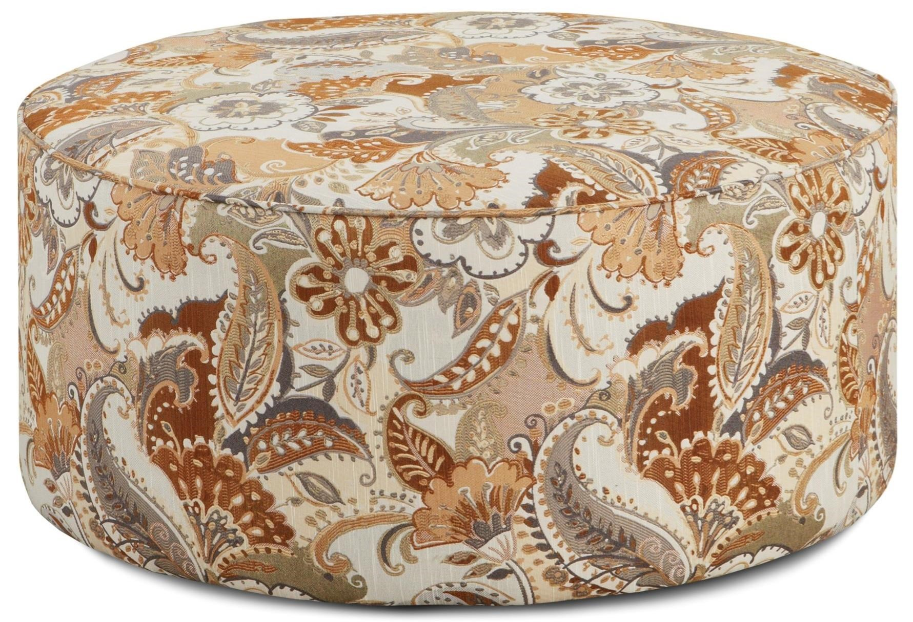 Fusion Furniture 140 Cocktail Ottoman - Item Number: 140Princeton Earth