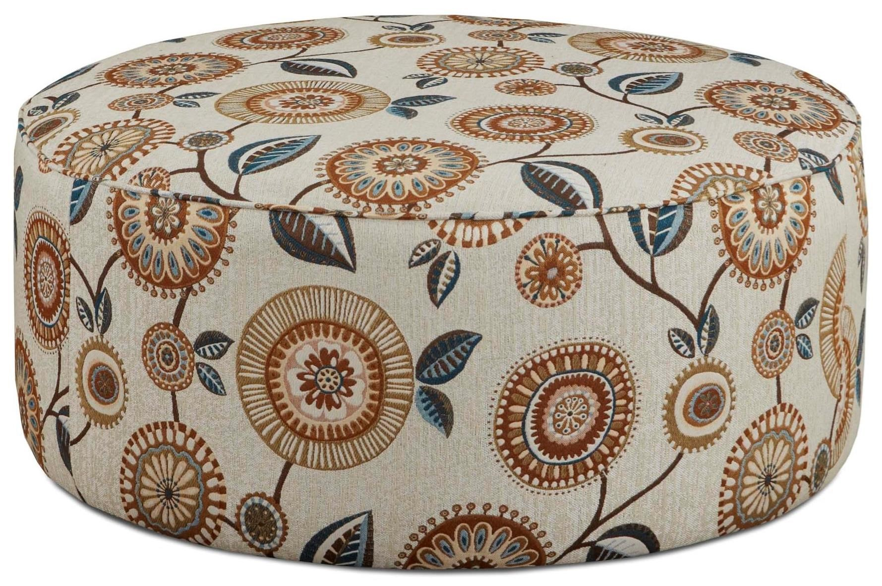 Fusion Furniture 140 Cocktail Ottoman - Item Number: 140Seymour Linen