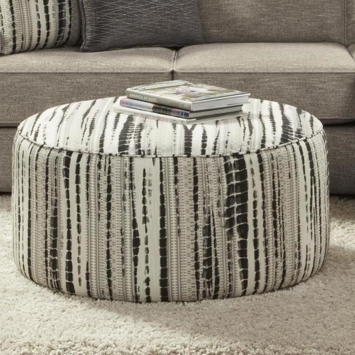 140 Cocktail Ottoman by Fusion Furniture at Furniture Superstore - Rochester, MN