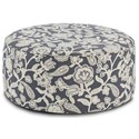 Fusion Furniture 140 Cocktail Ottoman - Item Number: 140Sophie Indigo