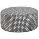 Haley Jordan 140 Cocktail Ottoman - Item Number: 140Toni Carbon