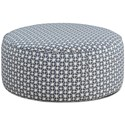 Fusion Furniture 140 Cocktail Ottoman - Item Number: 140Toni Marine