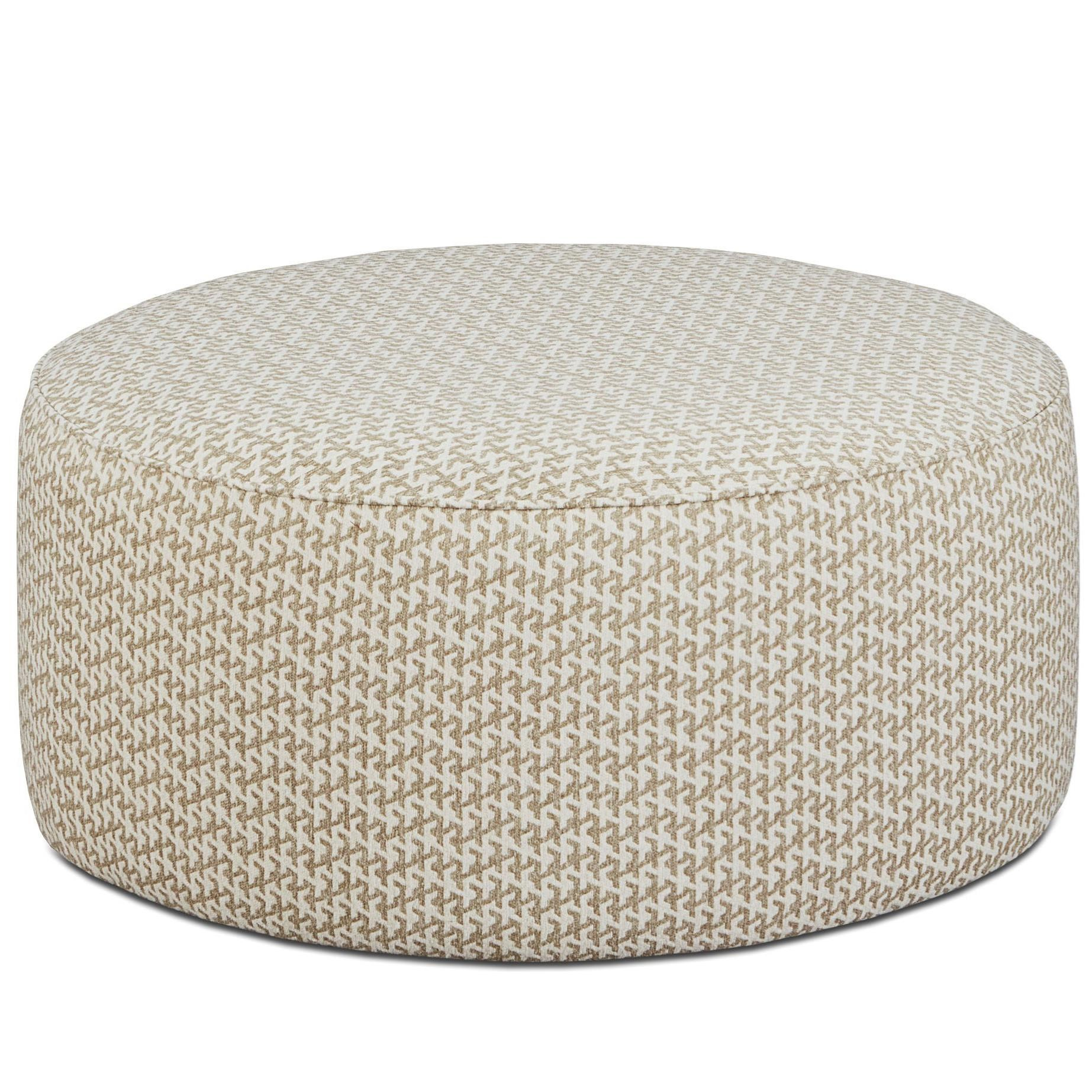 Fusion Furniture 140 Cocktail Ottoman - Item Number: 140Warble Twine