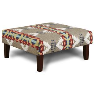 Fusion Furniture 159 Cocktail Ottoman