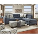 Fusion Furniture 1615 Stationary Living Room Group - Item Number: 1615 Living Room Group 1
