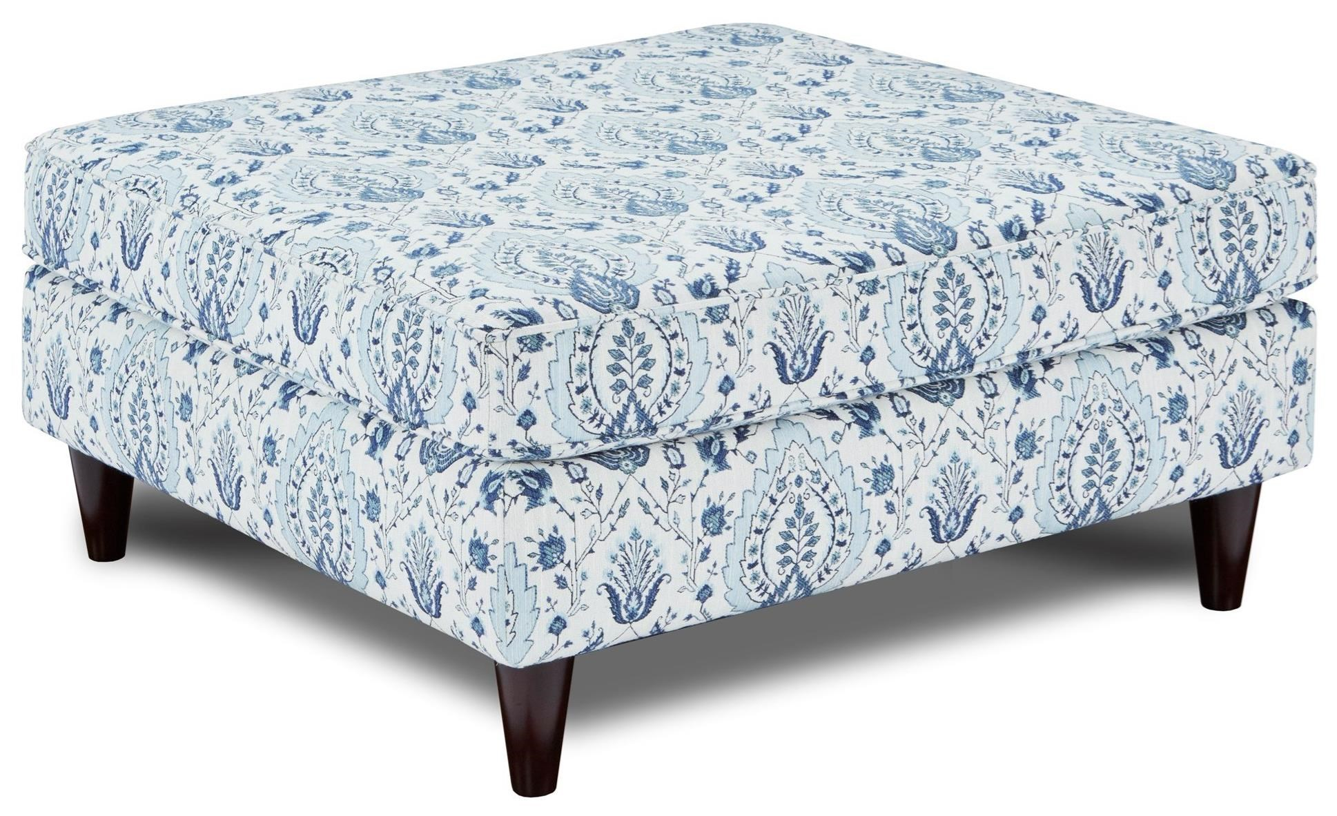 170 Ottoman by Fusion Furniture at Miller Waldrop Furniture and Decor