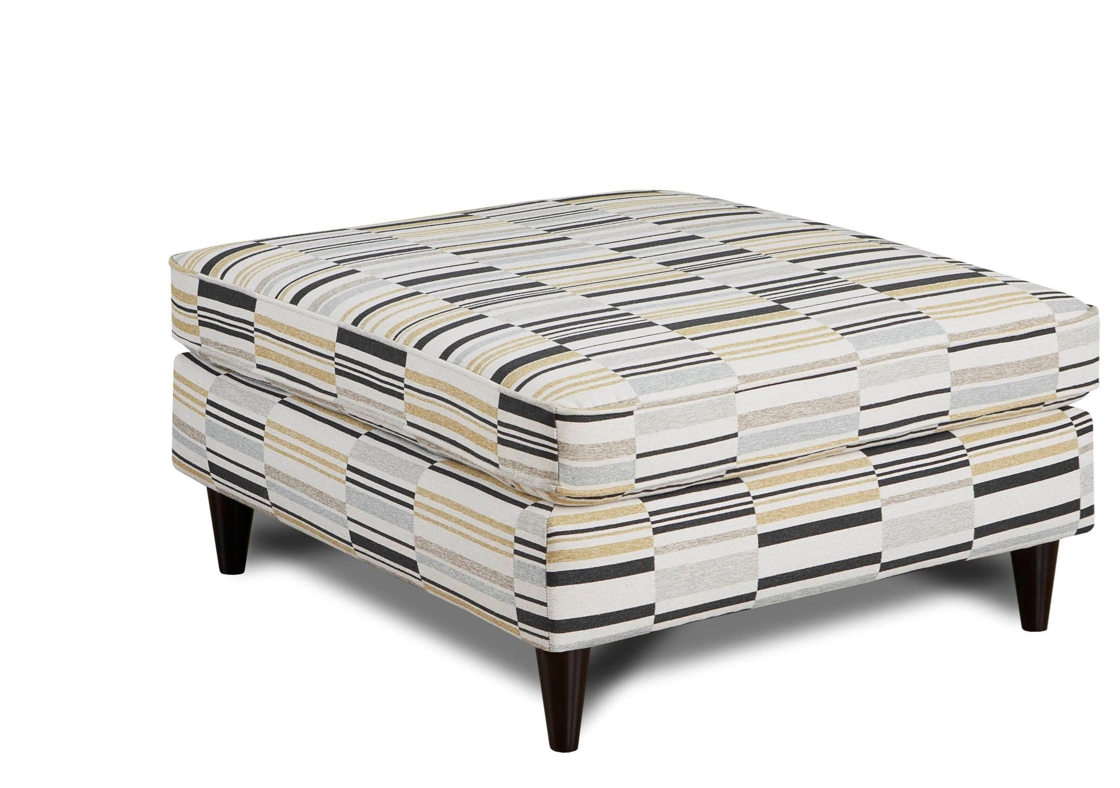 Fusion Furniture 170 Ottoman - Item Number: 170Talley Mineral