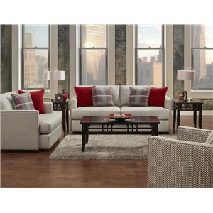Fusion Furniture 1800 Stationary Living Room Group