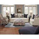 Fusion Furniture 1810 Transitional Sofa