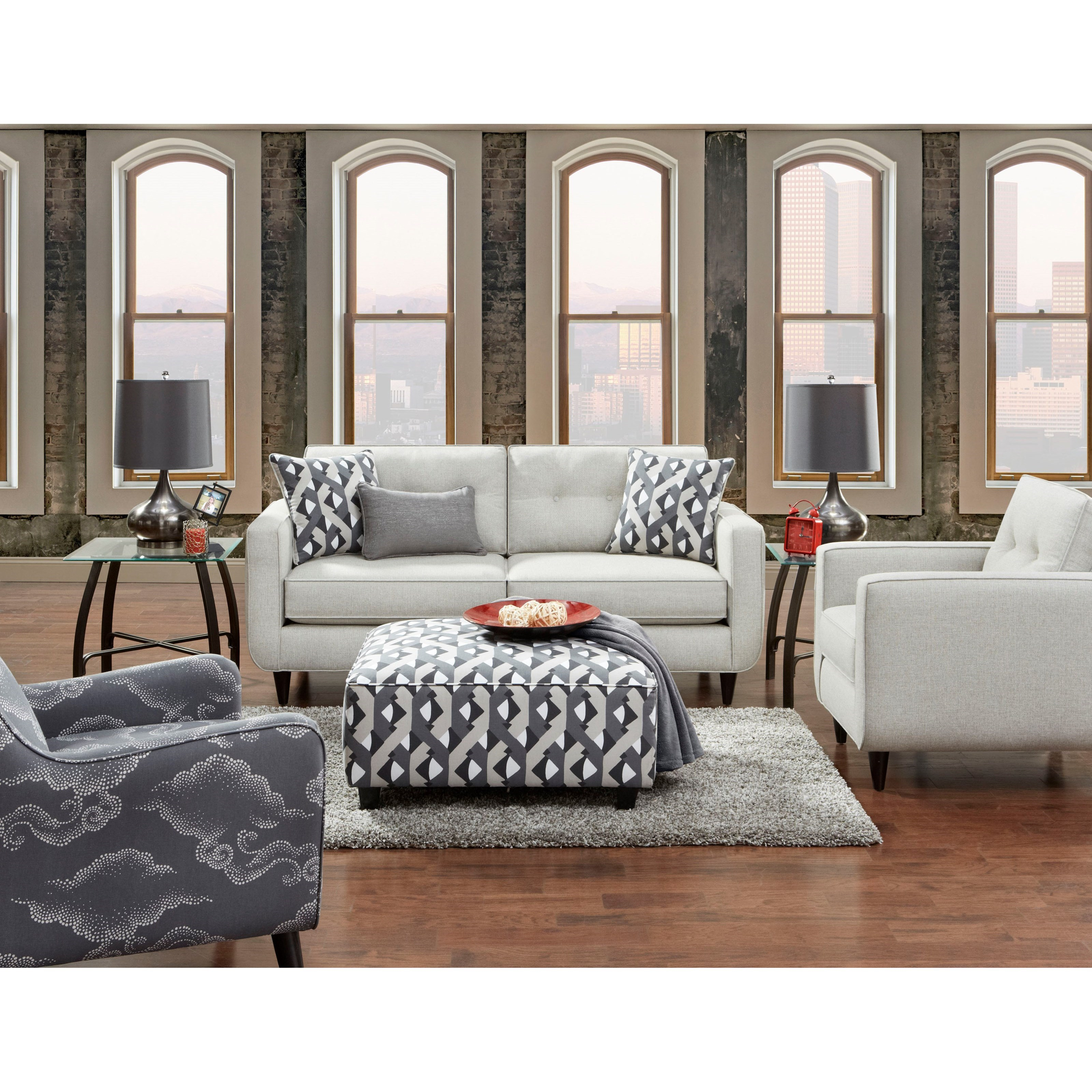 VFM Signature 1850 Stationary Living Room Group - Item Number: 1850 Living Room Group 1