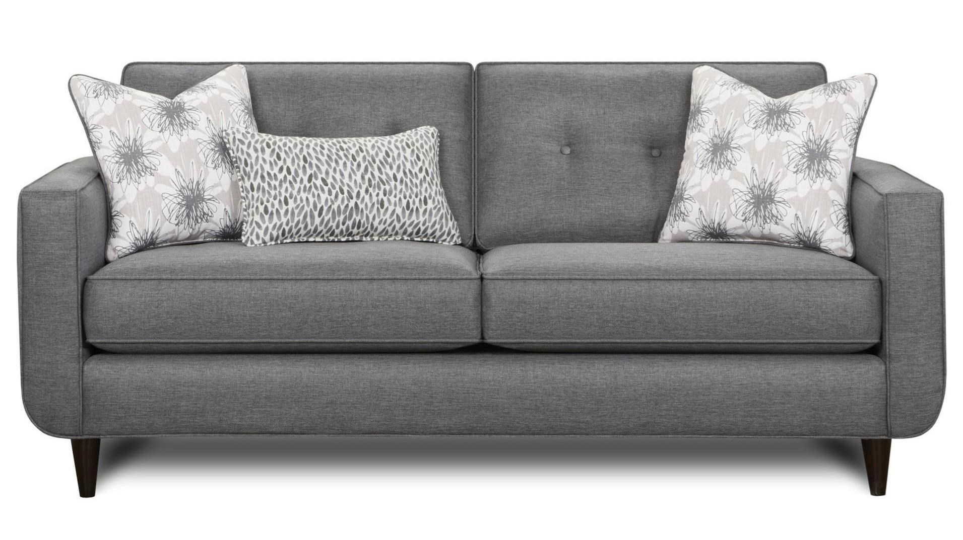 1850 Sofa by Fusion Furniture at Miller Waldrop Furniture and Decor