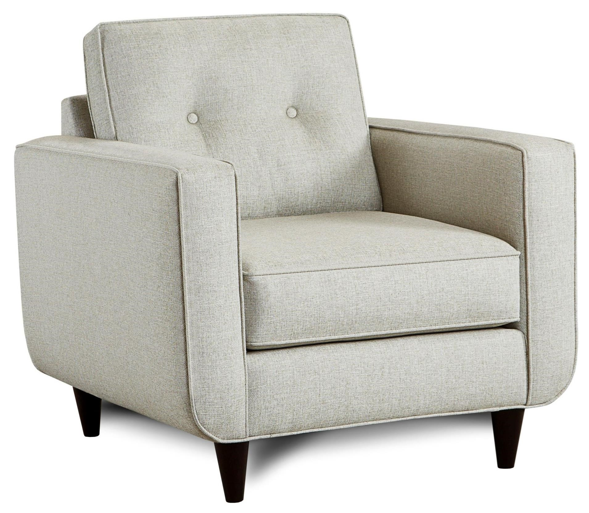 Fusion Furniture 1850 Chair - Item Number: 1852Grande Linen
