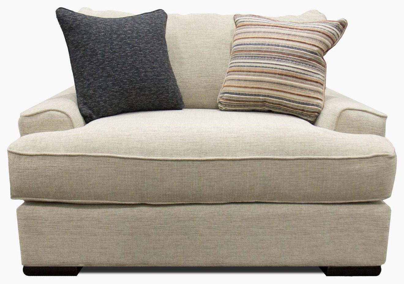 Fusion Furniture Bradley-Cream Chair & A Half - Item Number: 2012-BRADLEY-CREAM
