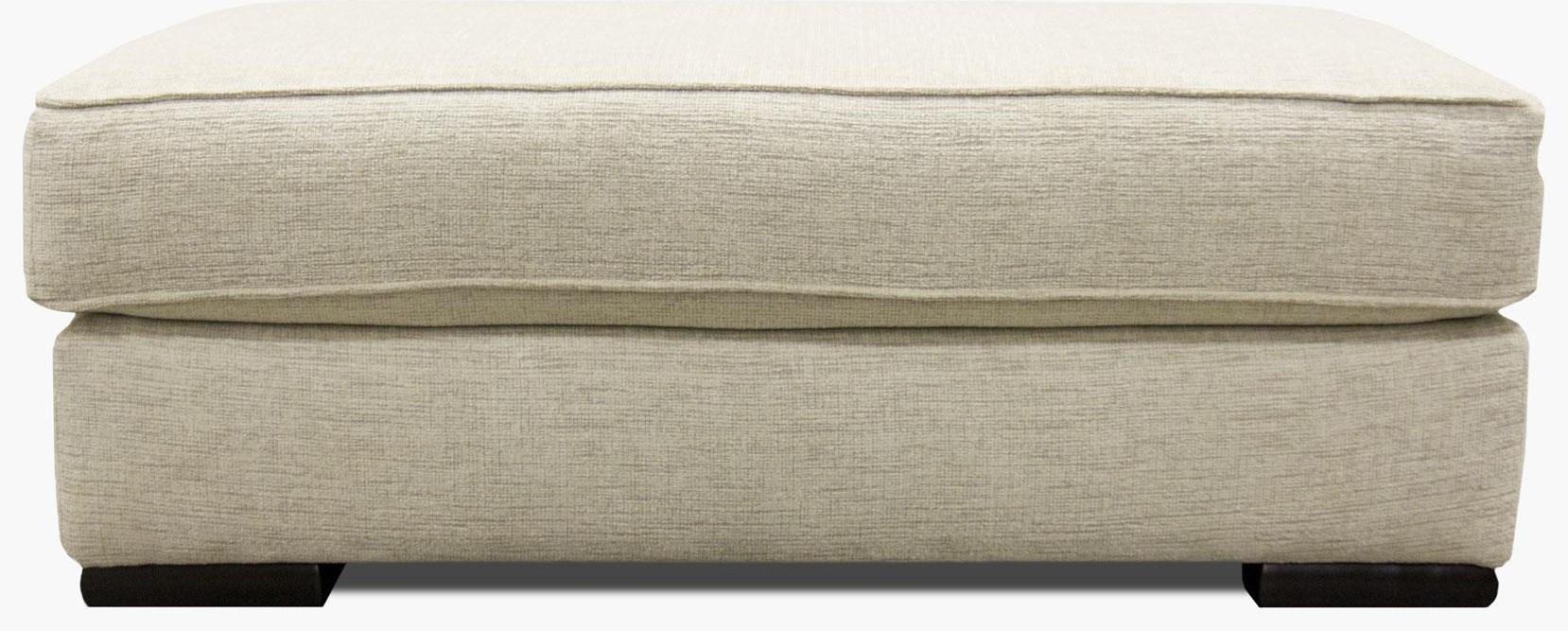 Fusion Furniture Bradley-Cream Ottoman - Item Number: 2013-BRADLEY-CREAM