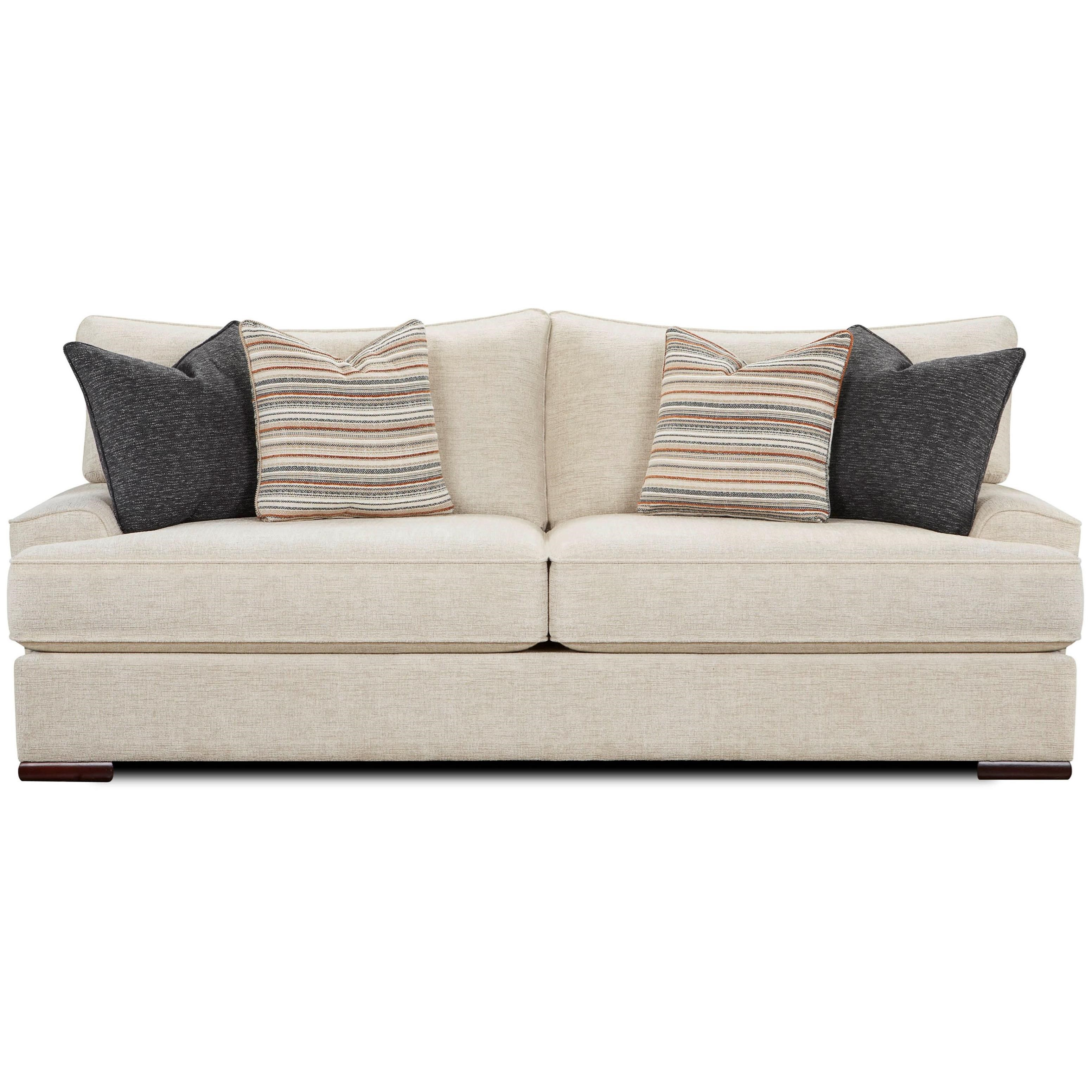 VFM Signature 2010 Sofa - Item Number: 2010Bradley Cream