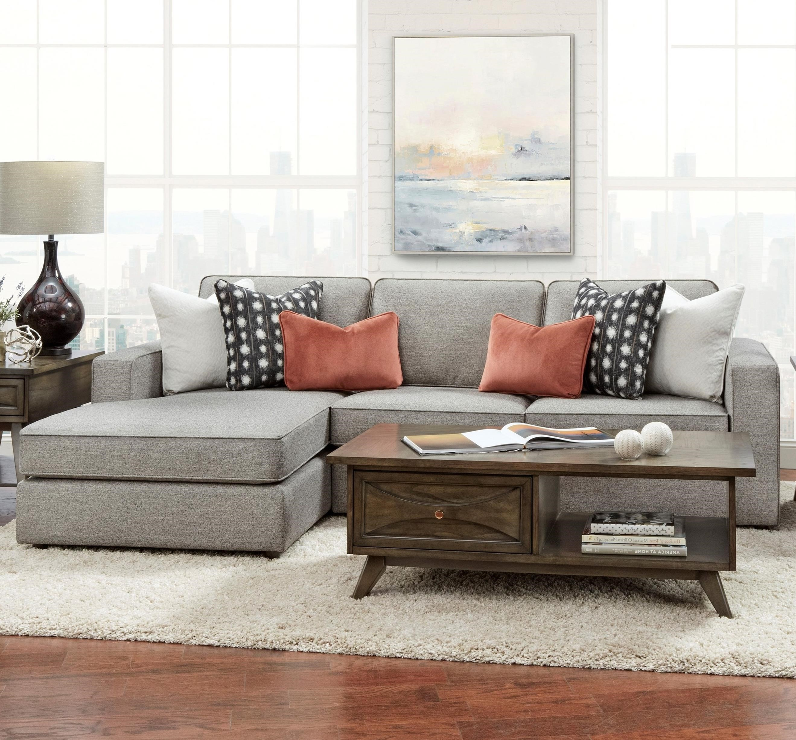 2061 2-Piece Sofa Chaise by Fusion Furniture at Wilson's Furniture