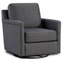 Fusion Furniture 21-02 Swivel Glider Chair - Item Number: 21-02GAustin Indigo