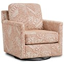 Fusion Furniture 21-02 Swivel Glider Chair - Item Number: 21-02GLibby Mango