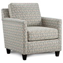 Fusion Furniture 21-02 Accent Chair - Item Number: 21-02Homeward Geranium