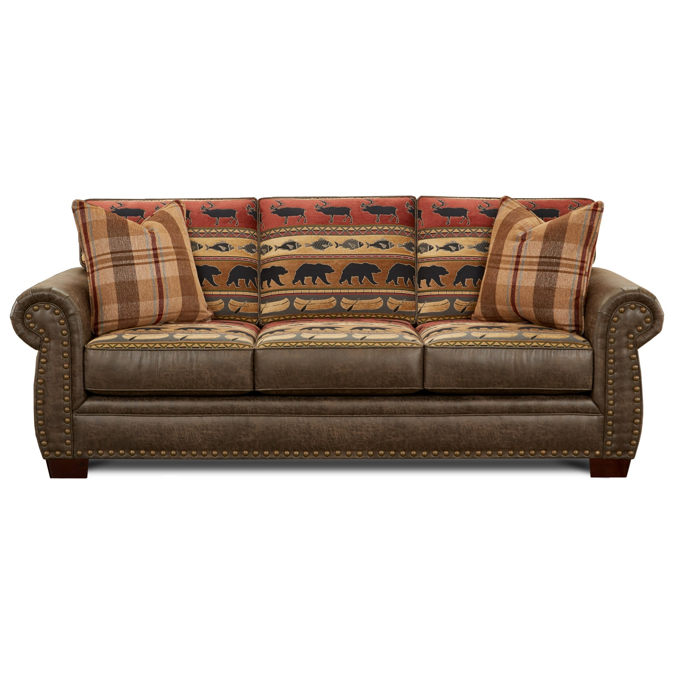 22-00 Sofa by Fusion Furniture at Miller Waldrop Furniture and Decor
