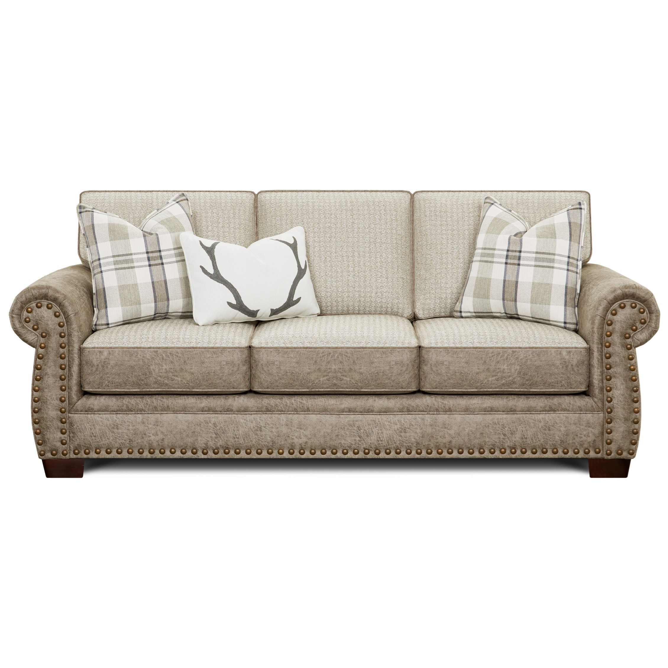 22-00 Sleeper Sofa by Fusion Furniture at Miller Waldrop Furniture and Decor