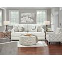 Fusion Furniture 23-00 Living Room Group - Item Number: 23-00 SL Living Room Group 3