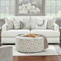 Fusion Furniture 23-00 Sofa - Item Number: 23-00-KPStudio Linen