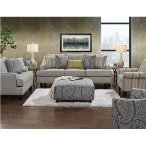 Fusion Furniture 2310 Stationary Living Room Group
