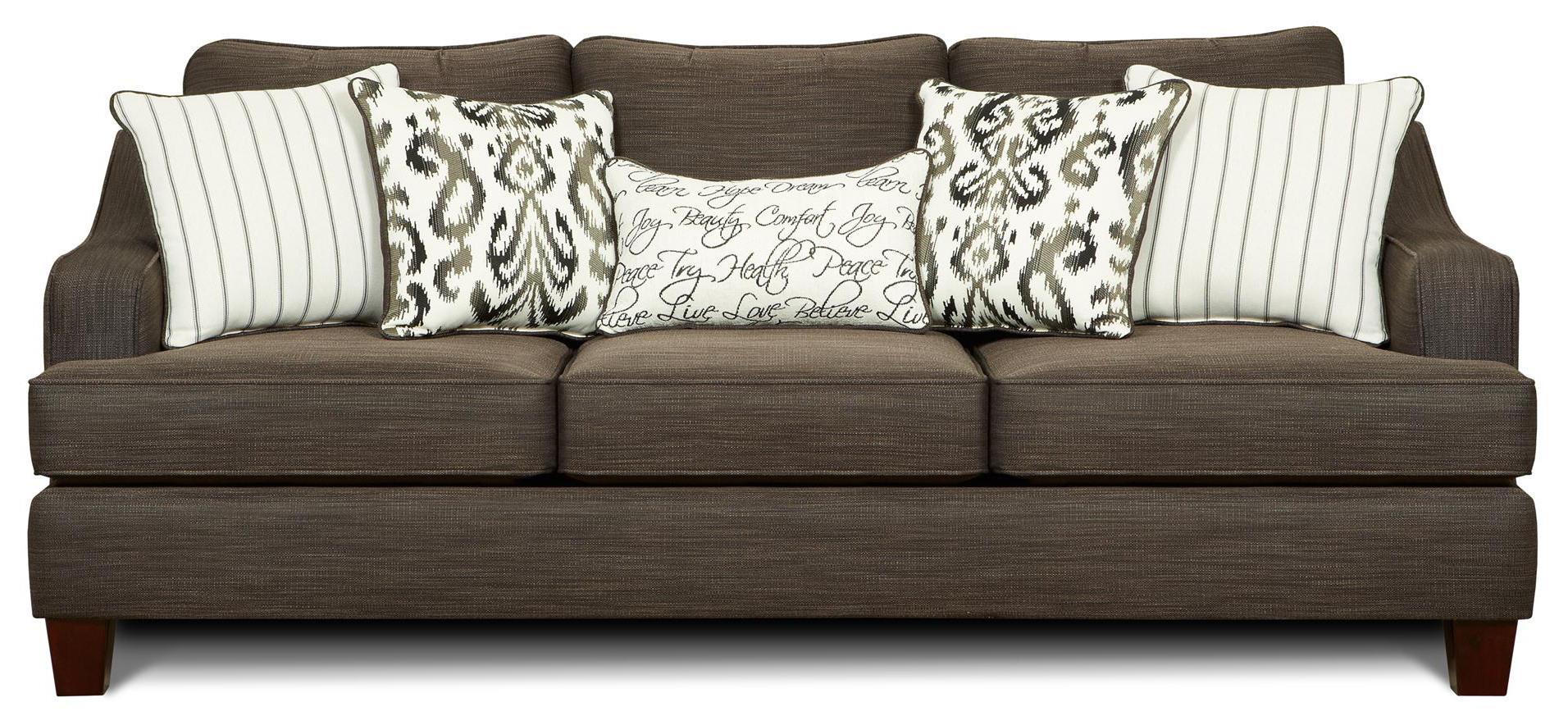 Fusion Furniture Imagine Sofa - Item Number: 2310-KP-OdinPewter