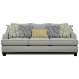 Fusion Furniture 2310 Sofa - 2310-KPChalet Platinum