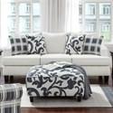 Fusion Furniture 2330 Sofa - Item Number: 2330Truth Or Dare Salt
