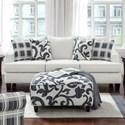 Fusion Furniture 2330 Sleeper Sofa - Item Number: 2334Truth Or Dare Salt