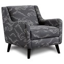 Fusion Furniture 240 Chair - Item Number: 240Cloudburst Graphite