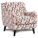Fusion Furniture 240 Chair - Item Number: 240Fiddlesticks Confetti